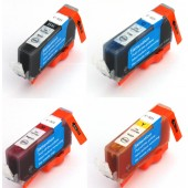 Pack 4 Cartouches compatible Canon CLI-521