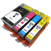 Pack 4 Cartouches Compatible HP 920 XL