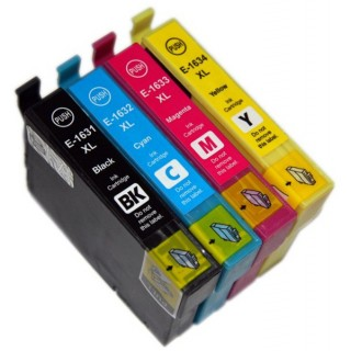 Pack 4 Cartouches compatible EPSON T1636 XL